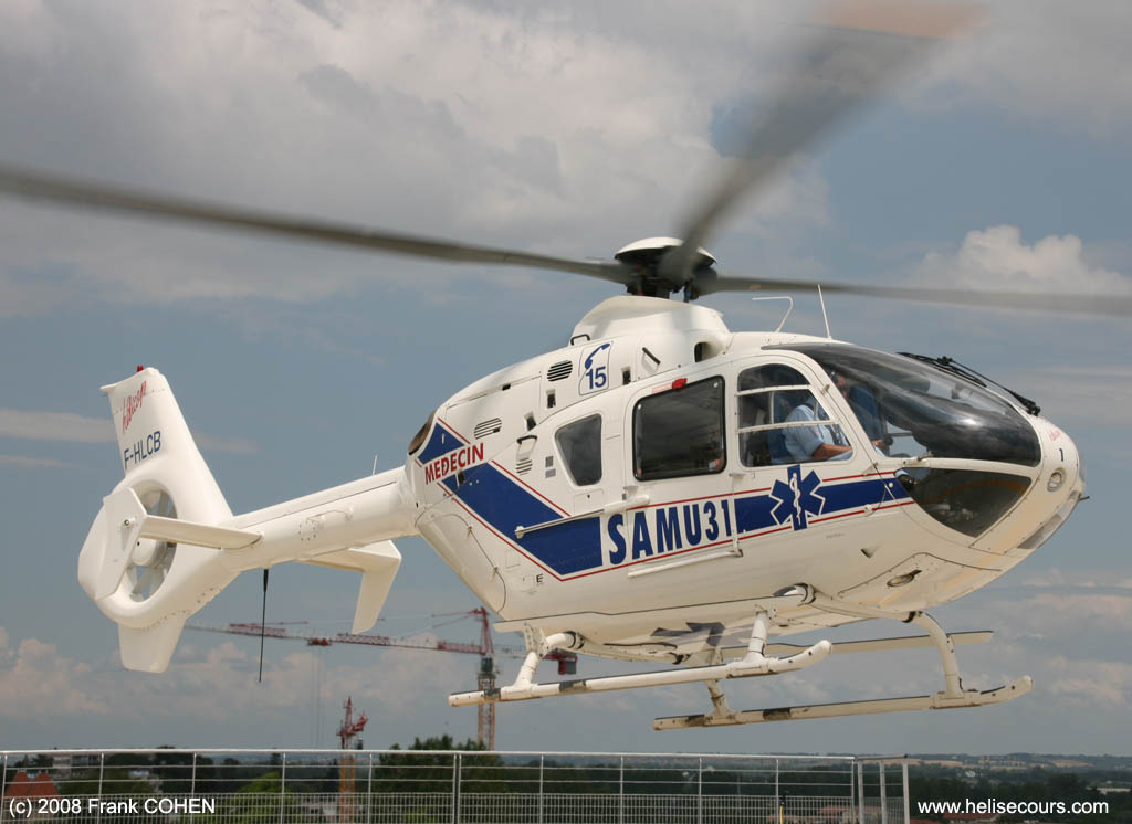 Helicoptere Samu 31